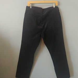 Vince Pants - NEW Vince black corduroy hi rise pants 33 nwot